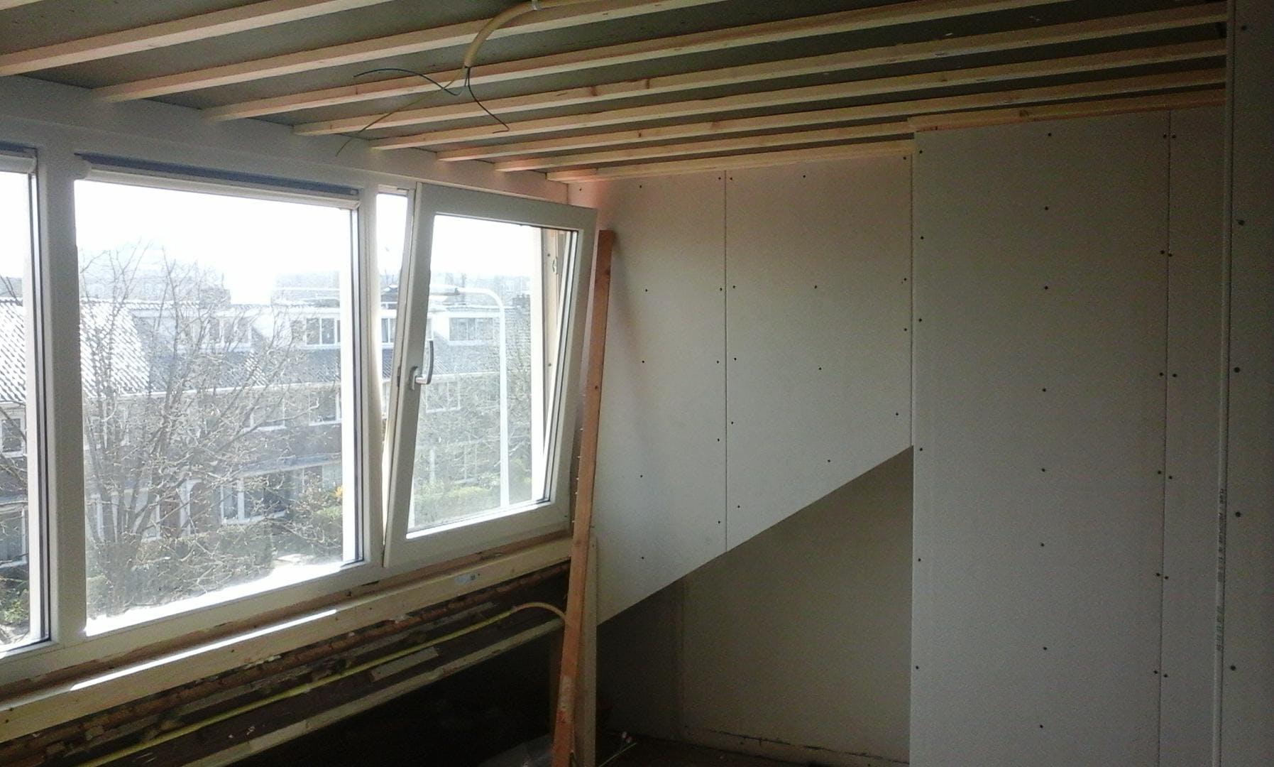 dakkapel op zolder