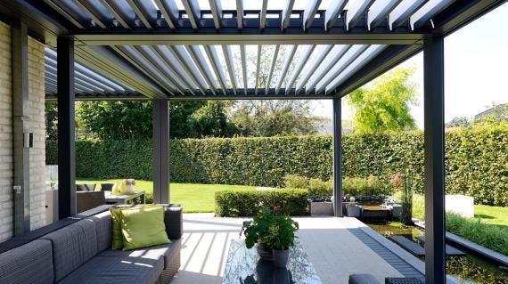 Beroemd Veranda of terrasoverkapping laten bouwen op maat? Wat zijn de kosten? ZY36