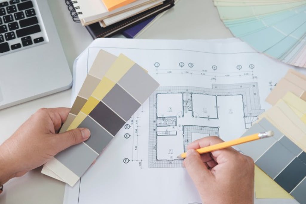 Binnenhuisarchitect-kosten